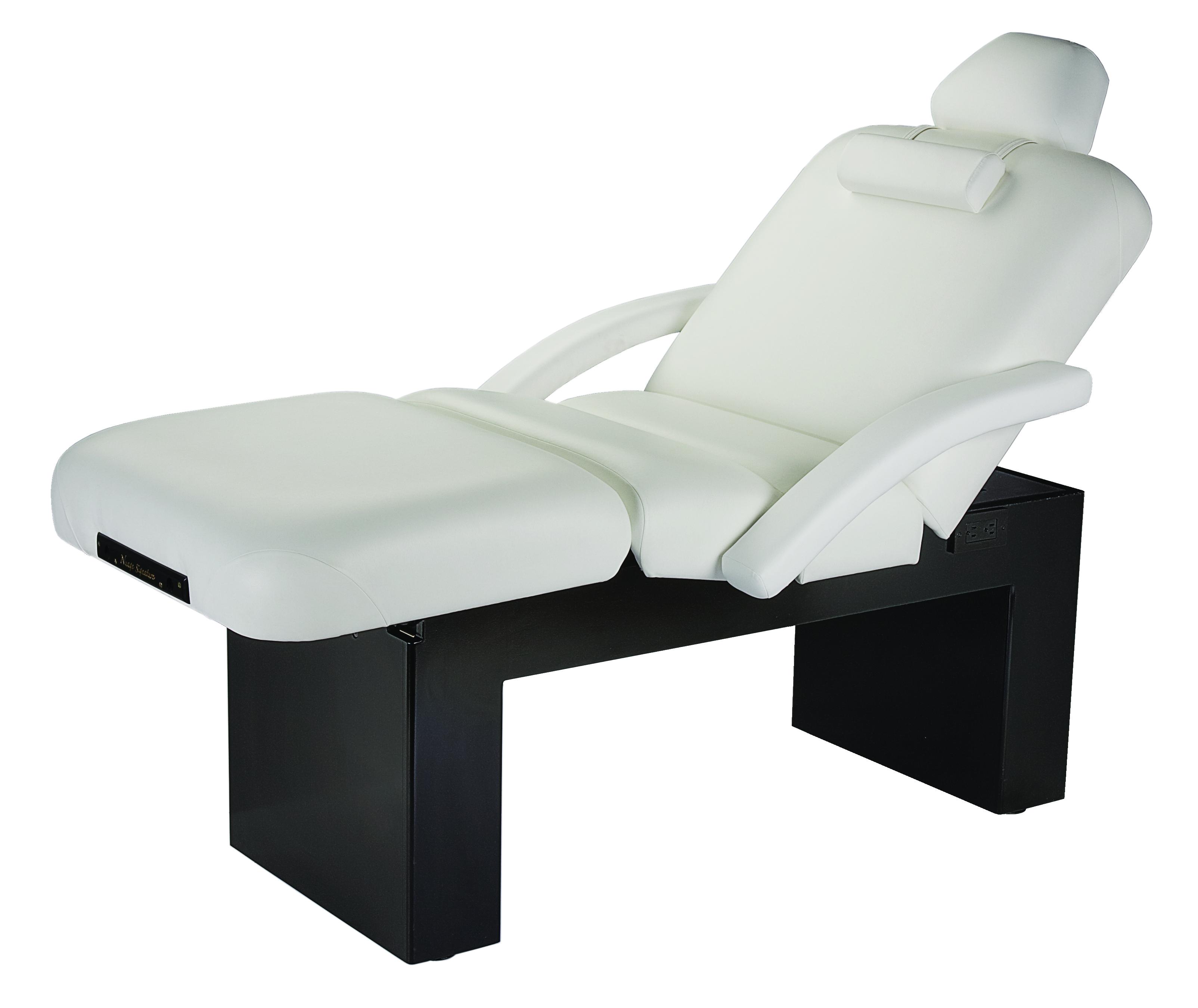 Oakworks Portable Massage Table Nuage Salon Table Pedestal Base