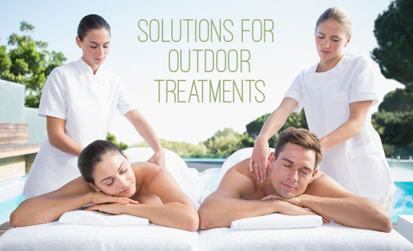 Outdoor Spa Treatments